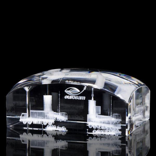 Objets en verre, créations sur mesure