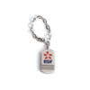 porte-cles-metal-luxe-nickel-brillant-email-cloisonne-chainette-bijouterie-edf