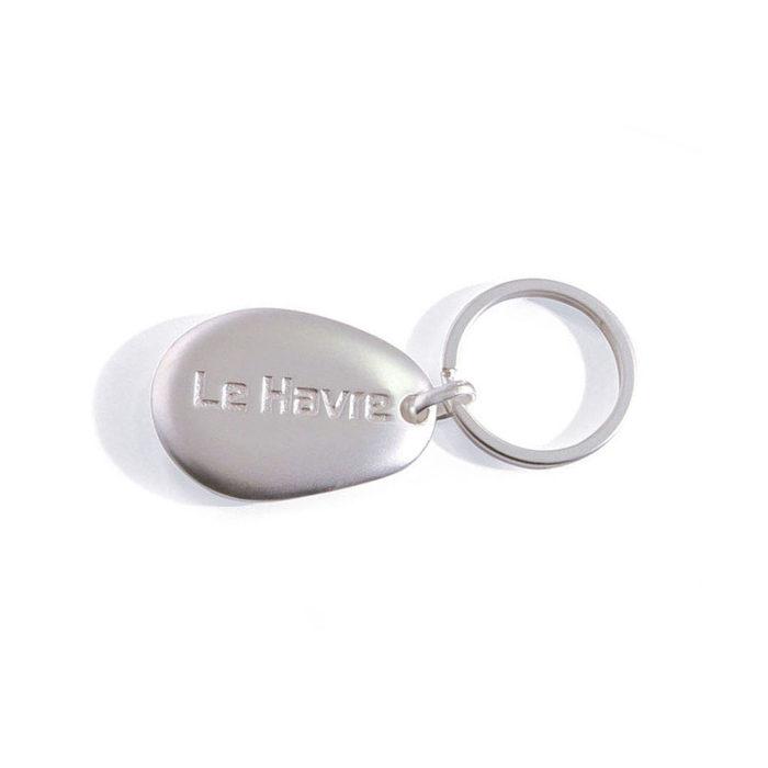 porte-cles-metal-diffusion-forme-galet-argent-mat-email-cloisonne-anneau-brise-region-le-havre