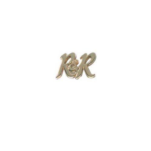 Broche en or – R&R