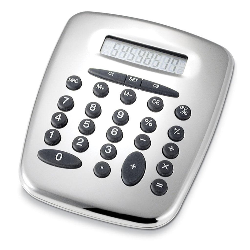 412-calculatrice-métal-argenté