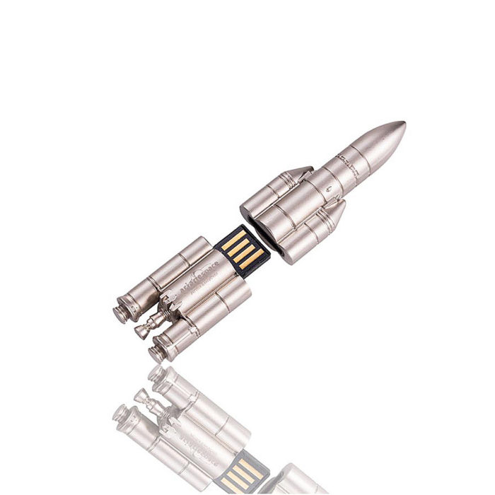 cle-usb-metal-luxe-3d-nickel-satine-arianespace