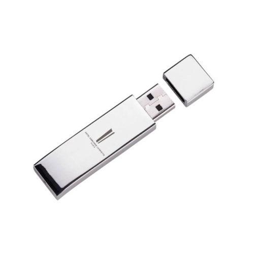 Clé USB métal argenté – Hôtel Concorde Lafayette