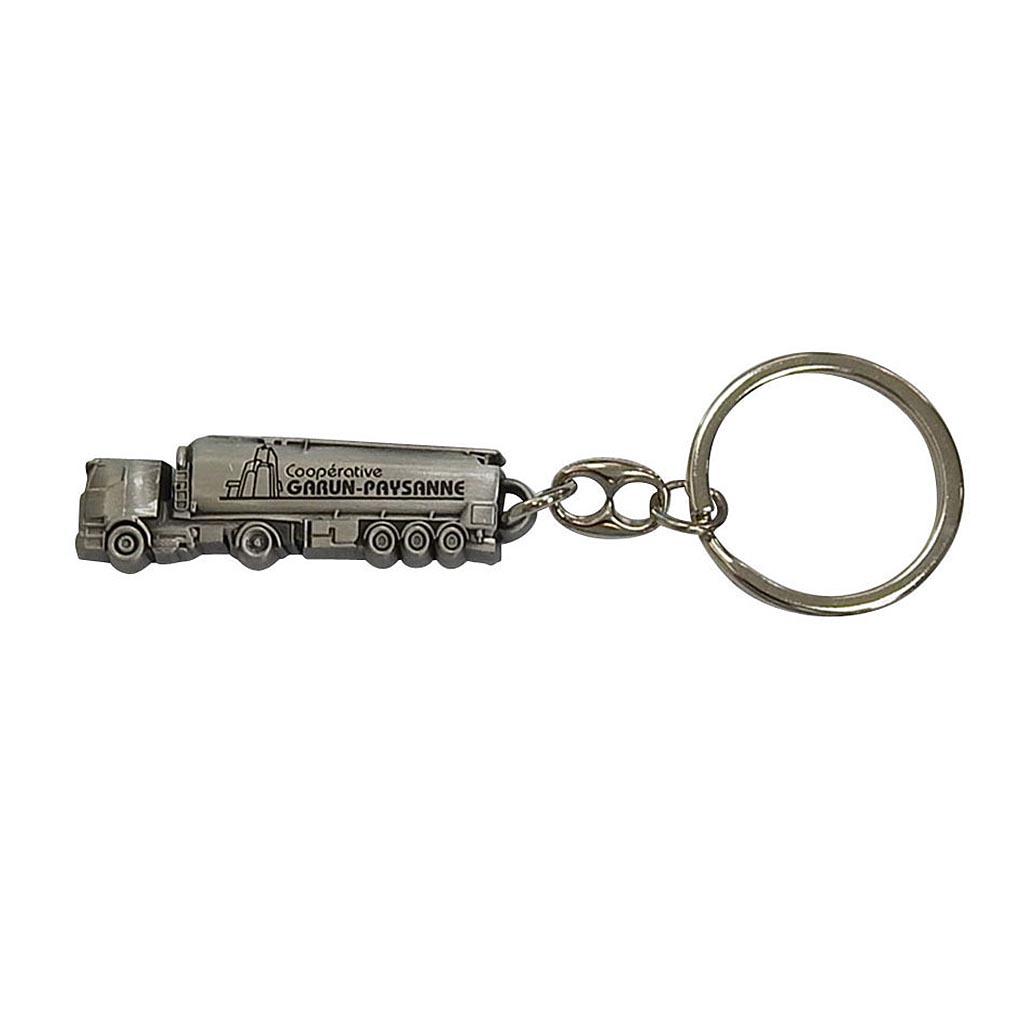 porte-cles-diffusion-metal-argent vieilli-garun-paysanne- kc-2