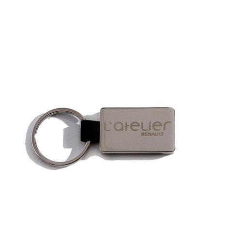 porte-cles-luxe-metal-cuir-gravure-laser-atelier-renault