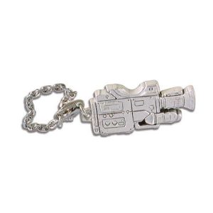porte-cles-metal-forme-camera-luxe-argent-mat-sony